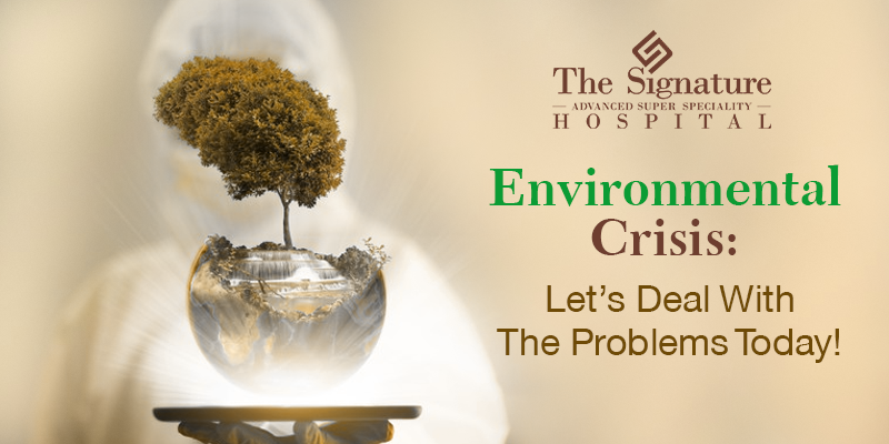 Environmental Crisis: Let's Deal With The Problems Today!